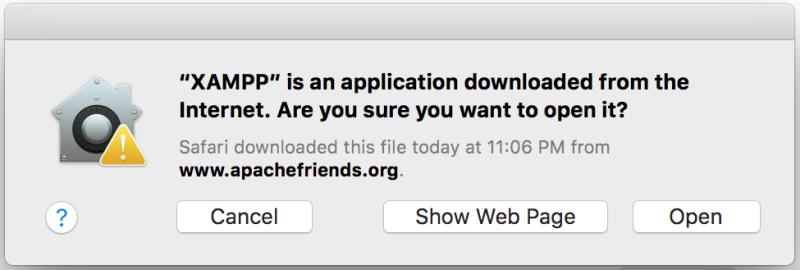 Xampp is an application downloaded