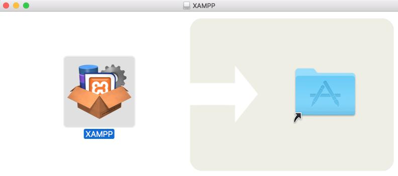 xampp-vm drag and drop application