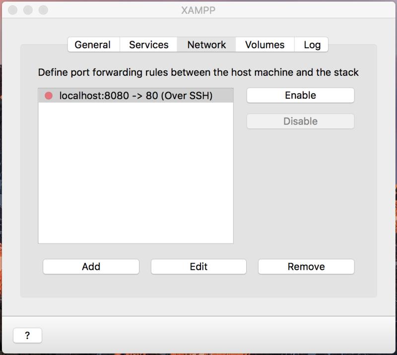 xampp-vm enable localhost