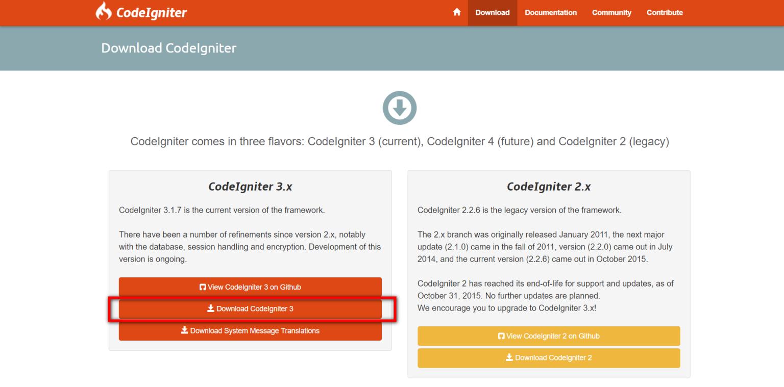 Simple Codeigniter Pagination Example - WDB24