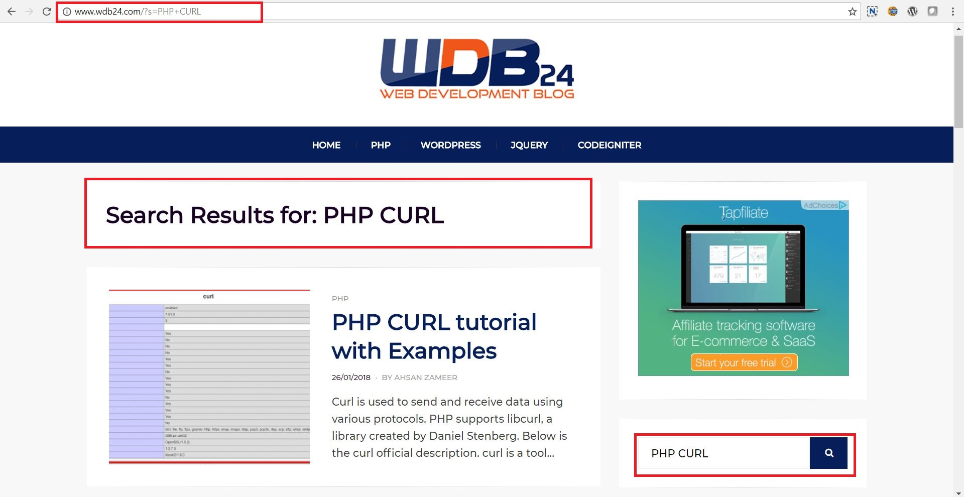 how to use query string in php