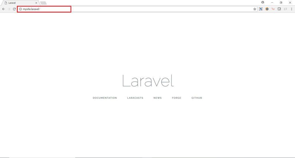 mysite laravel